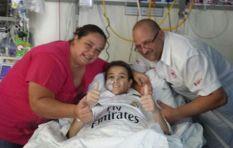Young cancer patient Keagan's dream comes true