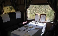 Caller Julie says luxury train stuck in the middle of the Karoo...all day