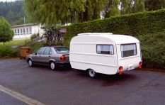 If you're towing a trailer or caravan over 750kg you may be breaking the law