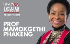 LeadSA Twitter Takeover with Prof Mamokgethi Phakeng