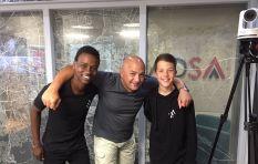 [LISTEN]  Friendship binds teen T-shirt entrepreneurs
