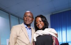Lee Kasumba touches down in Port Harcourt and visits Princess Hospital