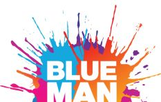The Blue Man Group adorns the Mother city