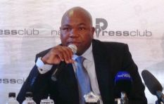Nxasana questions why Minister Masutha's involvement is not being challenged