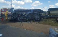At least 17 pupils dead after horrific minibus taxi crash