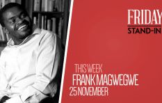 Once homeless, top CEO Frank Magwegwe hits the airwaves as #FridayStandIn