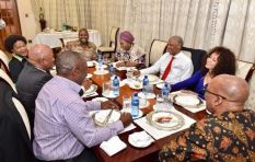 Zuma's guests who came for dinner
