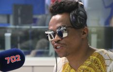 Azania Mosaka hosts the 'super splendiferous' Somizi Mhlongo