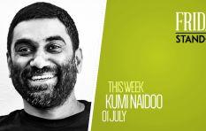 #FridayStandIn: Anti-apartheid activist Kumi Naidoo