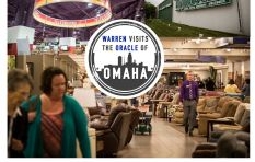28 hours of transit sees Warren Ingram at the Nebraska Furniture Mart