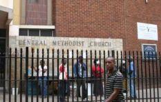 Why did the army raid the Central Methodist Church?