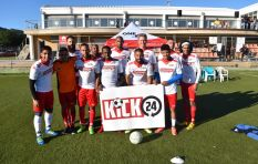 KICK24 soccer helps raise awareness against gangsterism and crime