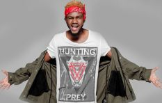 Kwesta's in good spirits