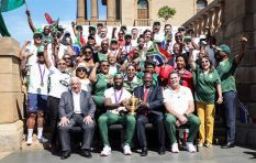 Springboks trophy parade brings cheer to Gauteng