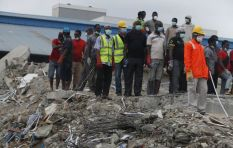 South African Nigeria Collapse Survivor survives 5 days under the rubble
