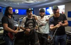 The Parlotones share their story and music on #702Unplugged