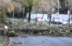 [Watch] Parts of Cavendish Square roof blown away #CapeStorm