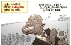 [CARTOON] Derailing Corruption