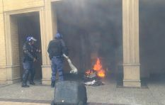 CPUT shuts down as students & police clash
