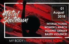 SA prepares for #TotalShutdown march against gender based violence
