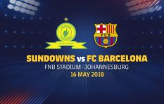 Barca vs Sundowns tickets selling like 'crazy'