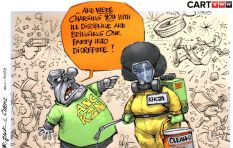 [CARTOON] Defying The Party Line