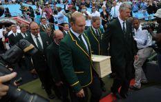 Rest In Peace Joost van der Westhuizen