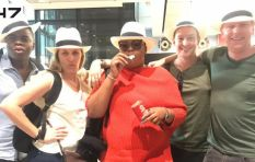 Anele and the Breakfast Club team hit the skies with Tsogo Sun