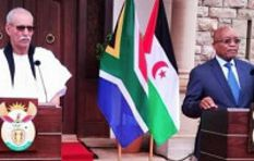 South Africa supports Western Sahara's bid for independence