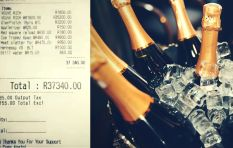 [WATCH] Close to R40 000 drinks bill settled!