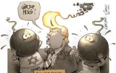 [Cartoon] Can Trump bring enlightenment to the Middle East?