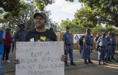 'I don't know how I feel about a protest outside a school' – Stephen Grootes