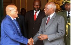 Only second president to be elected in Angola's 38-year independence