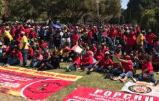Songs cheering and denouncing President Zuma sang at Cosatu May Day rally