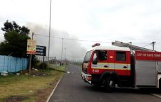 Firefighters battle blaze in Blouberg area