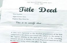 City clarifies advert on the lifting of title deeds restrictions