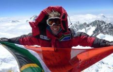 Inspirational tale of 3rd South African female to summit Mount Everest