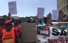 Shoprite workers hit the streets across SA, demanding better working conditions