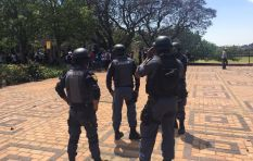 'Police were continuously pelted with rocks and stones' - SAPS