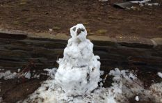 Olaf the Snow man comes home to Sutherland