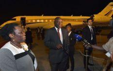 Ramaphosa VIP Jet under the spotlight