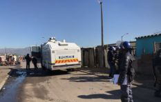 Police monitor Phumlani Village after protests over 'squalor' conditions