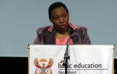 Motshekga updates on schools upgrade and leaked exam paper