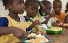 9 million school children rely on feeding schemes