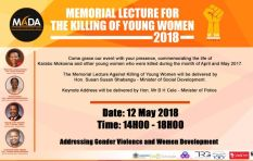Memorial Lecture Against killing of young women 12 May