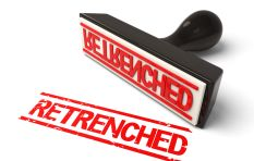 How to deal with retrenchment