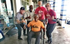 Paraplegic man surfs Cape waves, starts inspiring project to get others on board