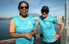 Sibs and Deon get ready for the FNB Cape Town 12 OneRun