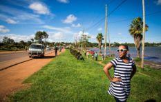 [WATCH] Africa's biggest lake, Nikiwe Bikitsha's first stop in Uganda