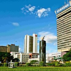 Lusaka is one of the fastest developing cities in the world
